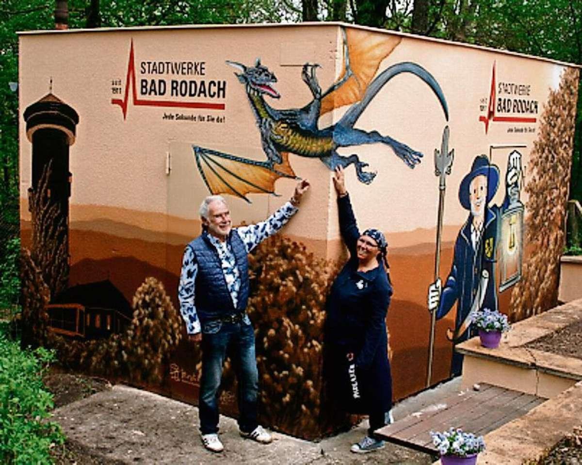 Bad Rodach Magische Landschaft Statt Schmutzigem Weiss Coburg Neue Presse Coburg