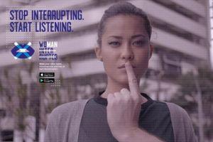Eigener Inhalt: App zeigt, wie oft Männer Frauen ins Wort