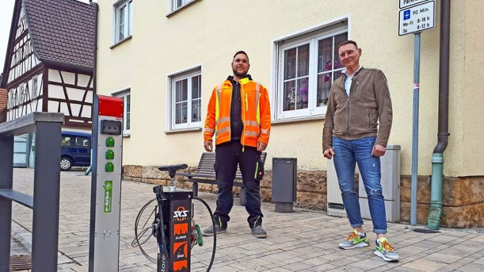 Fahrradstation in Hofheim: Reparatur to go